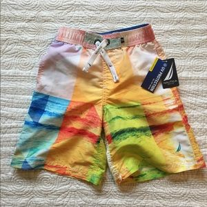 Nautica boys swim trunks NWT